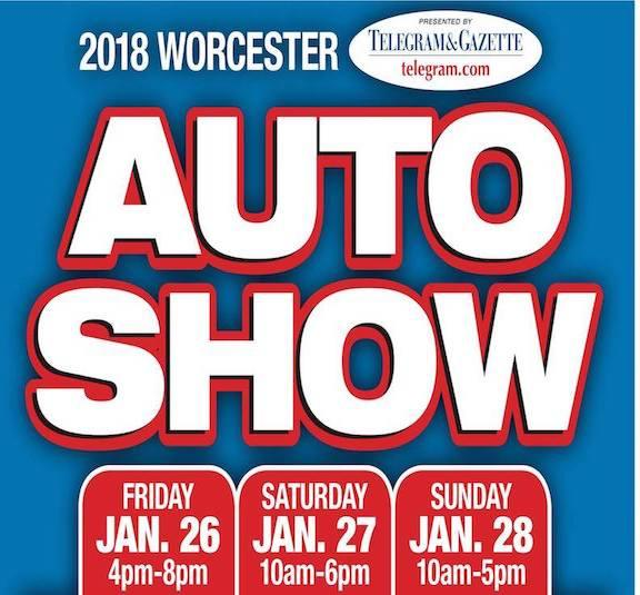 Massachusetts International Auto Show Worcester MA Jan - Dcu center car show