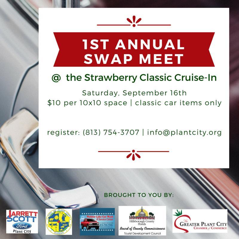 Strawberry Classic Car Show CruiseIn Plant City FL Sep - Plant city car show 2018