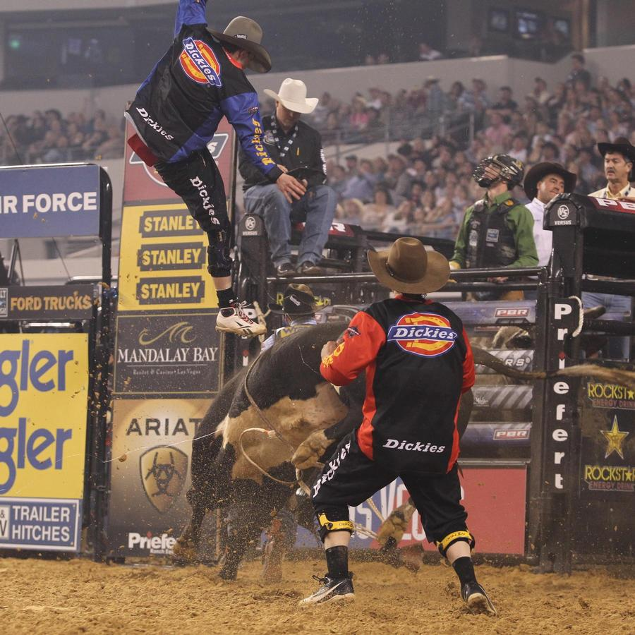 Professional Bull Riders Built Ford Tough Series Portland