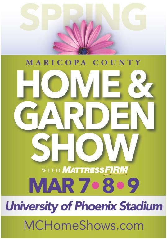 Spring Maricopa County Home And Garden Show Glendale Az