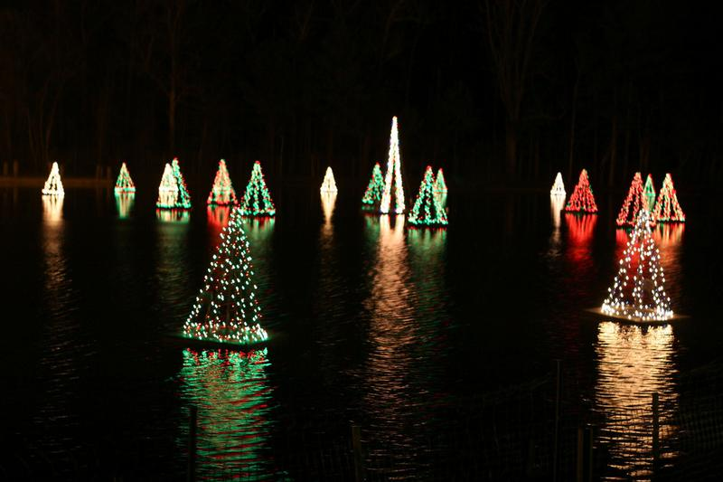 Holiday Light Show On The Lake Smithville Nj Nov 22