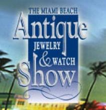 Miami beach antique jewelry and watch show miami fl for Miami beach jewelry watch show