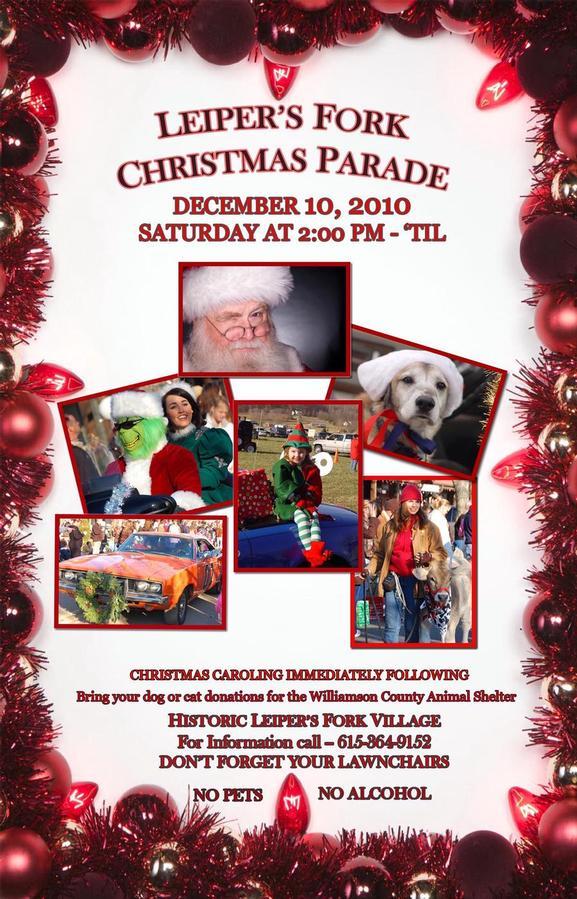 Leiper S Fork Christmas Parade Franklin Tn Dec 14 2019