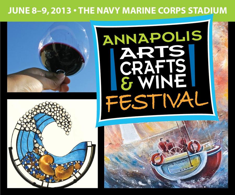 the annapolis arts crafts and wine festival   annapolis