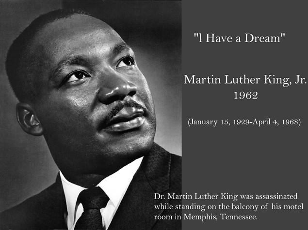 Commemorating Dr. Martin Luther King, Jr.