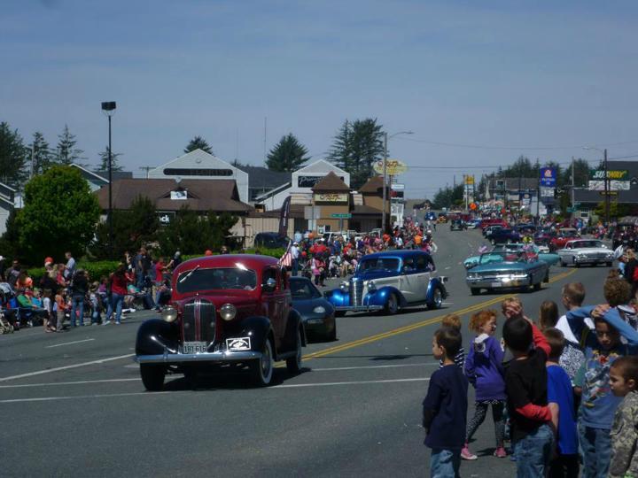 Car Show Brookings Oregon