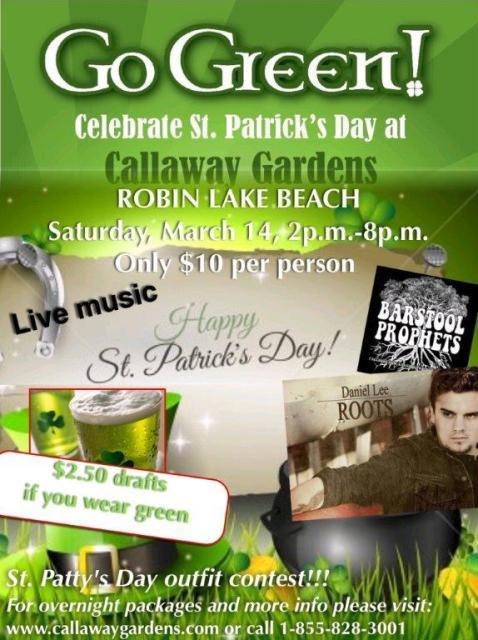 St Patrick 39 S Day Celebration At Callaway Gardens Pine Mountain Ga Mar 14 2015
