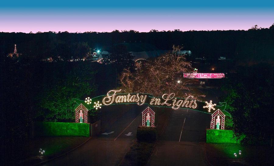 Bicycle Night At Fantasy In Lights Callaway Gardens Pine Mountain Ga Nov 12 2017