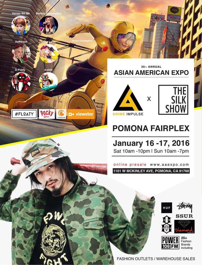 Asian american food expo pomona