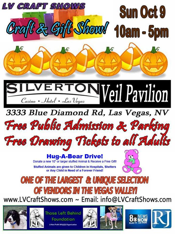 Fall shopping craft and gift show las vegas nv oct 09 for Las vegas craft shows