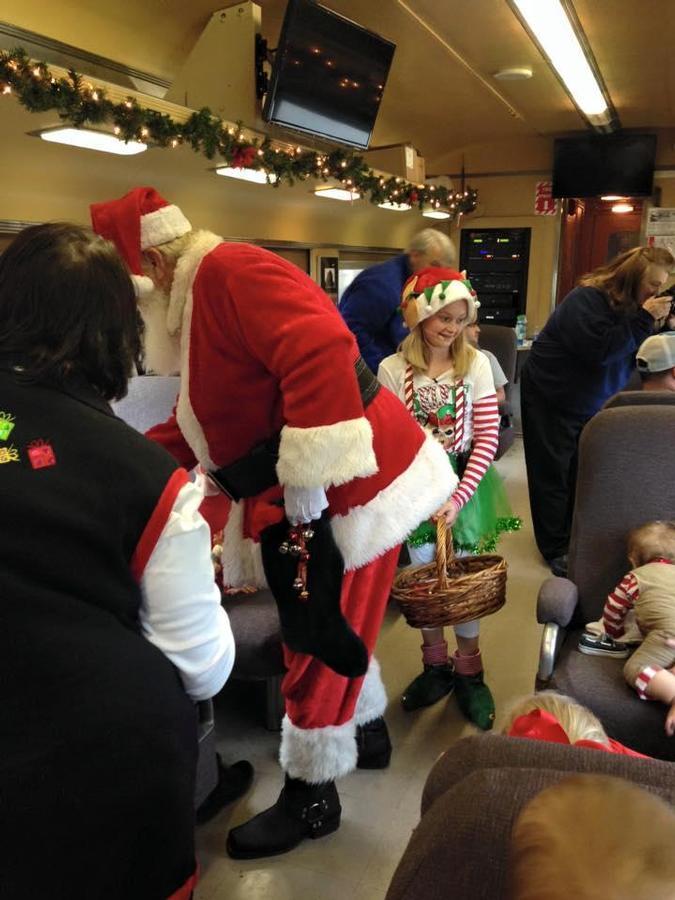 Summerville Santa Special Train Rides - Summerville, GA - Dec 02, 2017