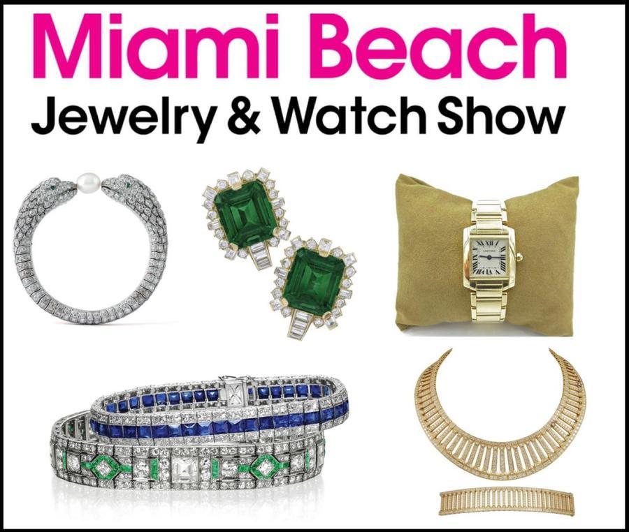 Miami beach jewelry watch show miami beach fl feb for Miami beach jewelry watch show