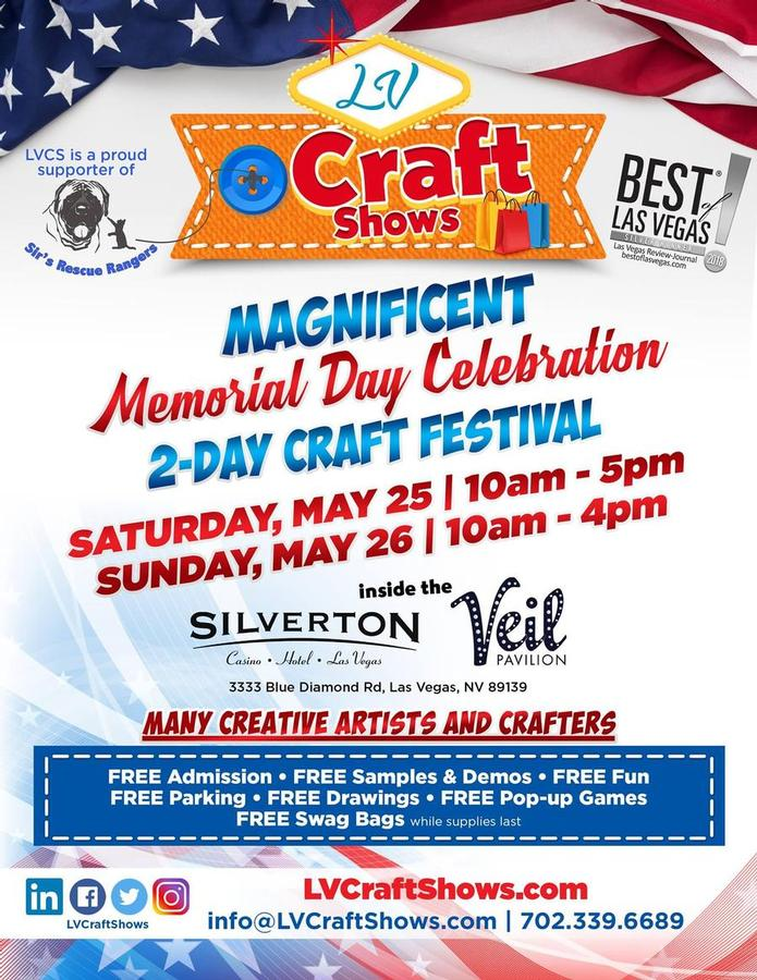 Magnificent Memorial Day Celebration Craft and Gift Show - Las Vegas