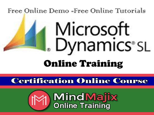 Learn Online Microsoft Dynamics Sl Training Free Certification