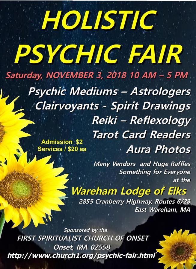 Holistic Psychic Fair - Wareham, MA - Apr 13, 2019