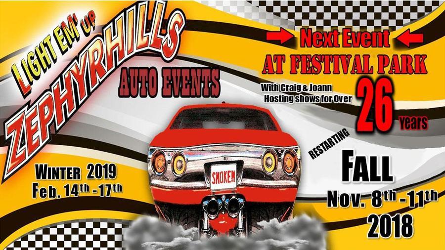 Zephyrhills Auto Events Zephyrhills FL Nov - Zephyrhills fl car show