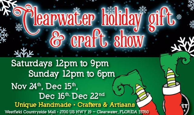 Clearwater holiday gift craft show clearwater fl for Craft fairs in clearwater fl
