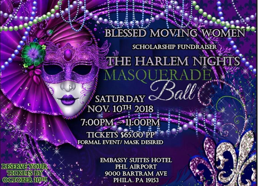 The Harlem Nights Masquerade Ball