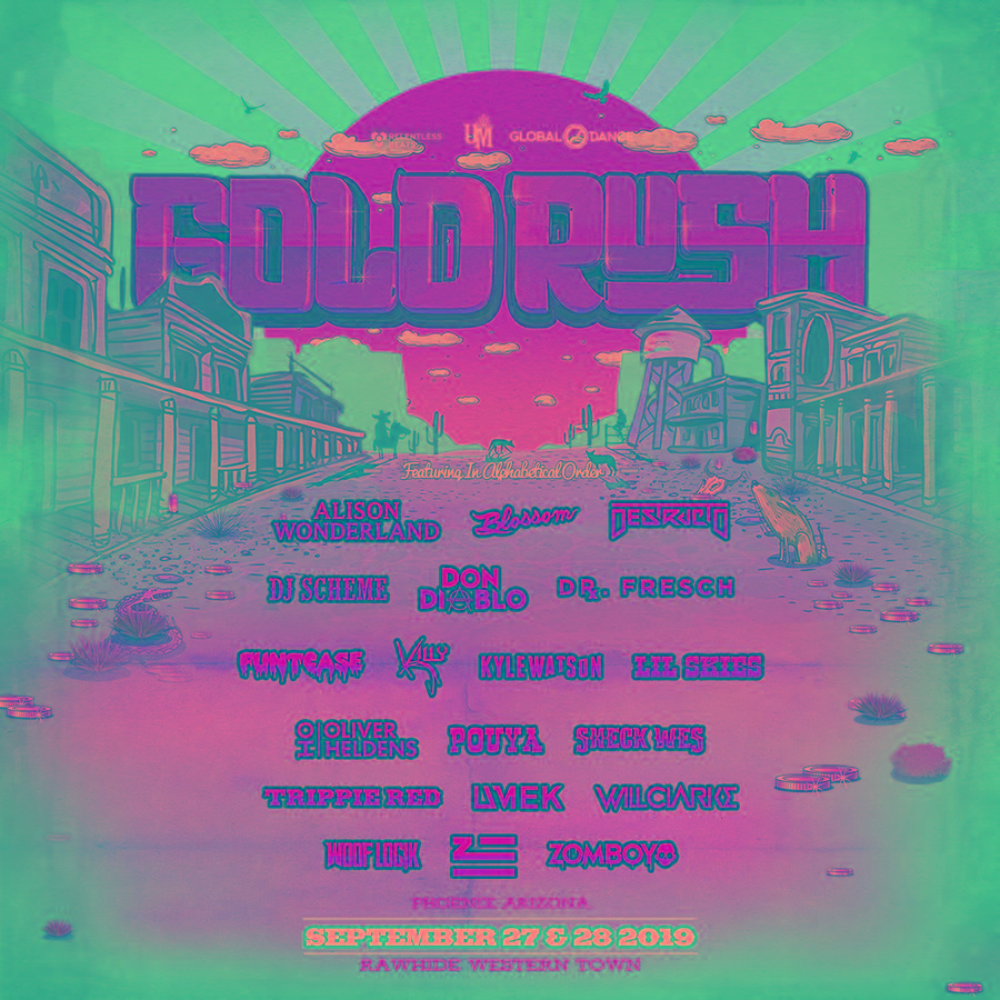 Goldrush Music Festival Returns to Rawhide Western Town This